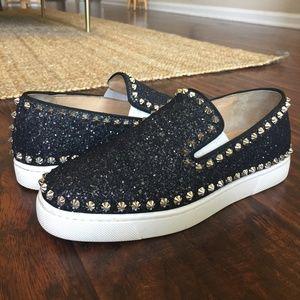 Christian Louboutin Spike Slip-On Sneaker Women's